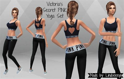 Vic Set 2in1 Jumper Sporty my sims 4 s secret pink set by lindseeeyx
