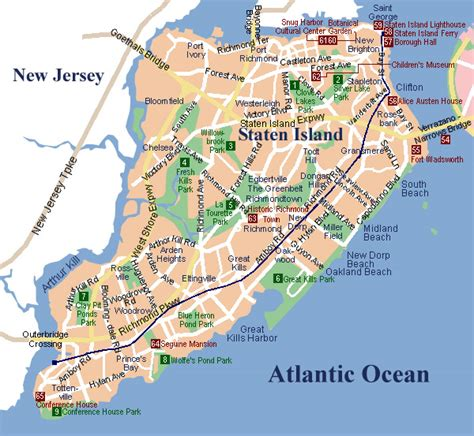 staten island map staten island map map3
