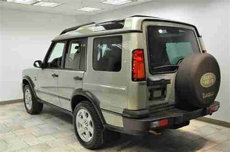 how make cars 2004 land rover discovery transmission control sell used 2004 land rover discovery hse rare color combo and customization in oxford