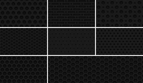 pattern photoshop grid 8 seamless dark metal grid patterns