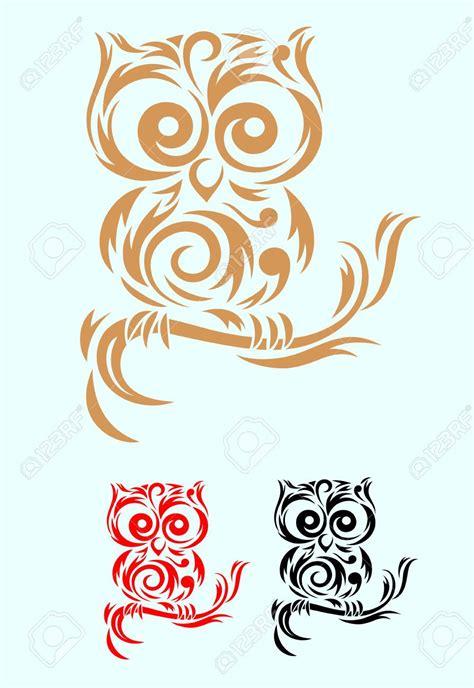 tribal owls tattoos owls tribal owl
