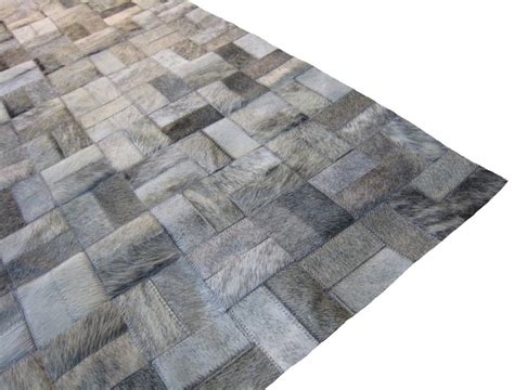 Patchwork Cowhide Leather Rugs - patchwork cowhide leather rugs roselawnlutheran