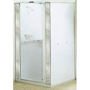 free standing shower units free standing shower stalls