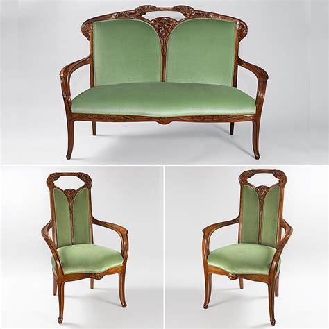 art nouveau couch art nouveau furniture bing images