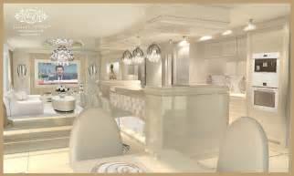Studded Floor Mirror by Luxury Interior Design Lidia Bersani Interior