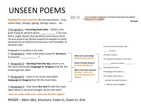 aqa english literature unseen 1292186348 unseen poetry aqa gcse