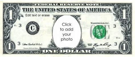 template of dollar bill free custom printable play money template instant