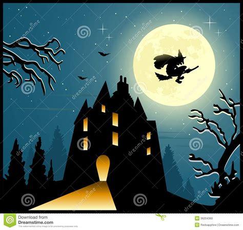 halloween scary background stock photo image