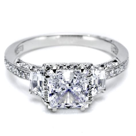 princess cut engagement rings totally stunning