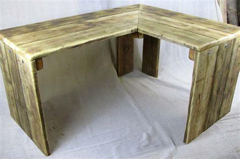 corner desks uk corner desks chunky reclaimed furniture handmade in