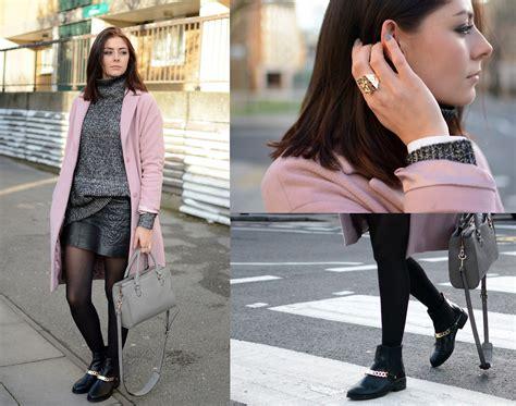blackpink zara emma hill betty jackson black pink cashmere coat zara