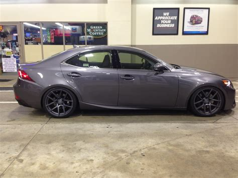 lexus is 350 rims 19 quot wheels on a is 350 f sport 2013 14 clublexus lexus