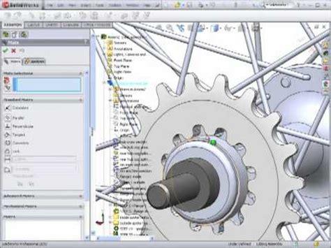 solidworks tutorial bike dsid129 fa10 bicycle wheel solidworks tutorial part 4