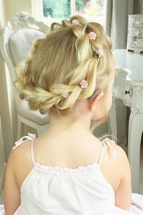 girl hairstyles for wedding 35 cute fancy flower girl hairstyles for every wedding