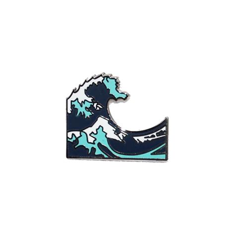emoji of a wave wavey pinhype