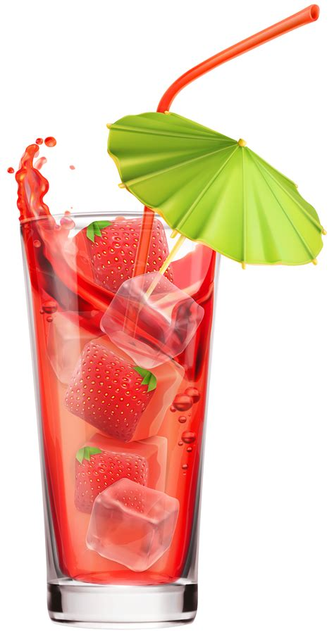 cocktails png strawberry cocktail png clipart image clip drinks