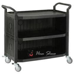 hospital trolley restaurant cart plastic service carts
