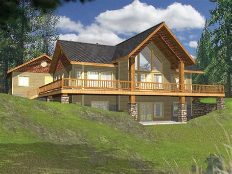 Cabin Home On The Hill by House Plans Home Plans And Floor Plans From Ultimate Plans