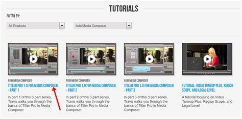 tutorial avid fx how to learn avid media composer for free