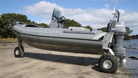 pontoon sea legs for sale sealegs 10 years 1000 boats stuff co nz