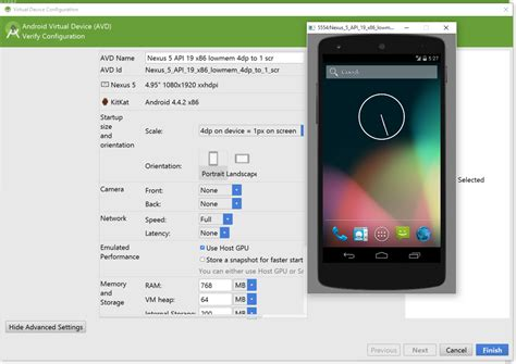 android studio emulator how to resize the avd emulator in android studio stack overflow