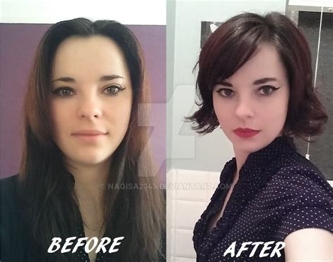 after 5 hair styles 2016 haircut before and after by nagisa2345 on deviantart