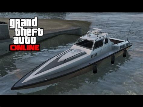 find boats online gta 5 online how to find the police boat predator