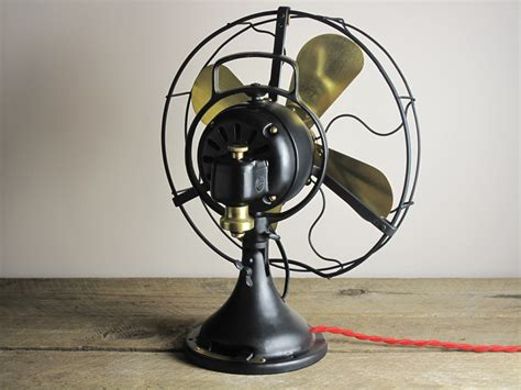 old fashioned electric fan vintage desk fan restoration hostgarcia