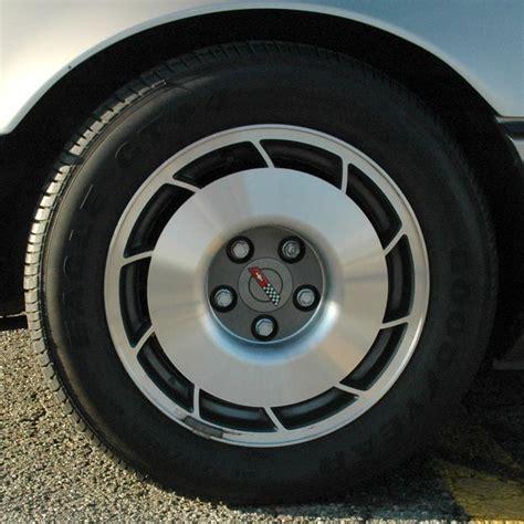 corvette wheels 1987 corvette c4 improved suspension options