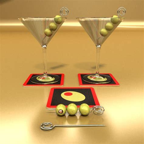 martini liquor martini liquor glass 3d model buy martini liquor glass