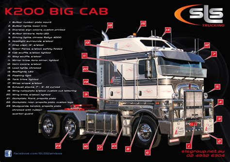 kenworth accessories  sls trucking