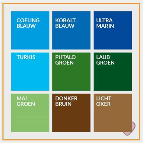 Groen Blauw Kleur by Groen Blauw Verf Excellent Voor Clear Leaf Verf With