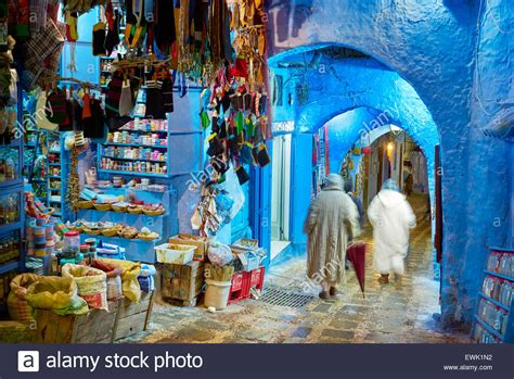 Medina Blue by Blue Painted Walls In Medina Of Chefchaouen Morocco