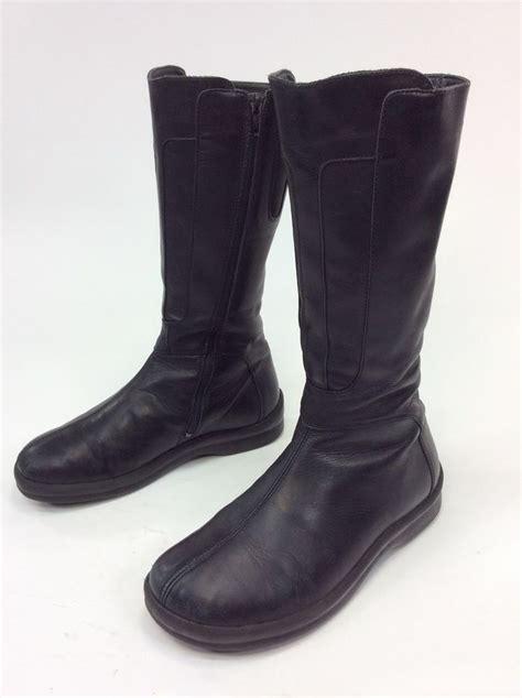 birkenstock boots for s footprints by birkenstock germany made black