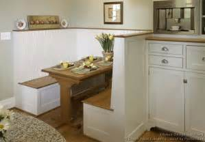 kitchen booth ideas cottage kitchens photo gallery and design ideas