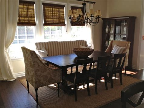 couch in dining room custom dining set traditional dining room los angeles by the sofa guy
