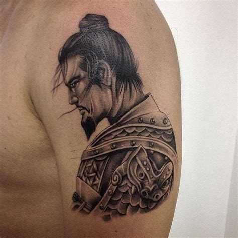 tattoo oriental samurai e gueixa 60 tatuagens de samurai impressionantes