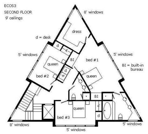 triangular house floor plans 25 best ideas about triangle house on pinterest