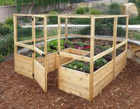 Indoor Tomato Garden Kit - build a raised amp enclosed garden bed diy projects for everyone