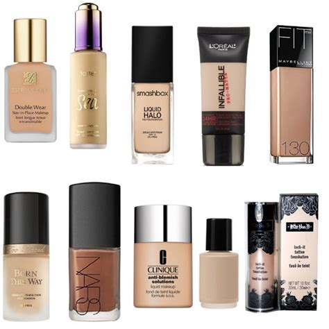 Top 10 Best Foundations For Oily Skin   Pretty Designs