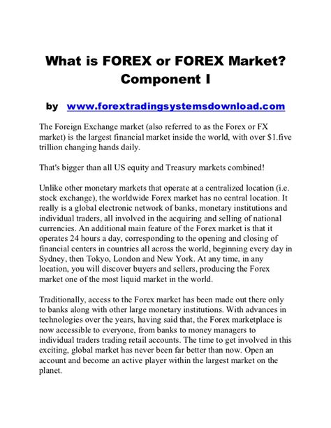 forex trading tutorial for beginners pdf forex trading for beginners pdf