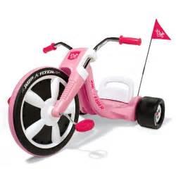Radio Flyer Big Ebay New Girls Radio Flyer Pink Big Wheel Tricycle Trike Bike