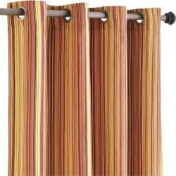 Striped Window Curtains Pallas Stripe Window Panel Contemporary Curtains By Pier 1 Imports