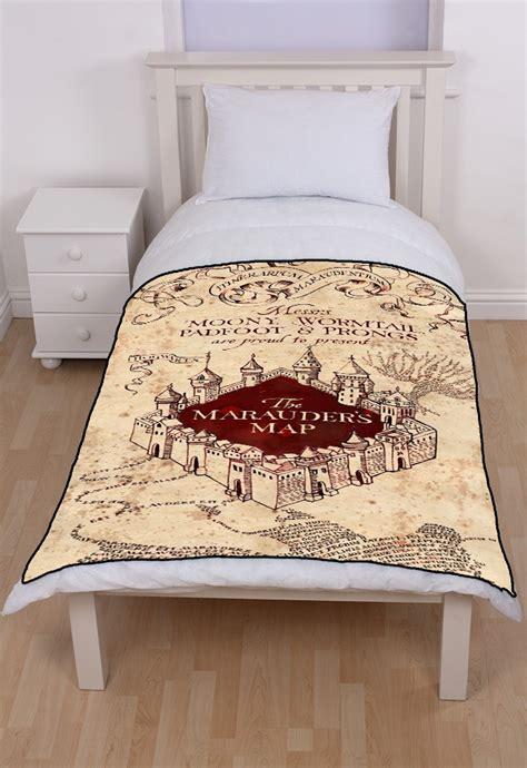 marauders map bedding harry potter marauders map fleece throw blanket
