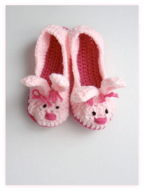 womens bunny slippers s pink bunny slippers crochet bunny by herclosetcrochet