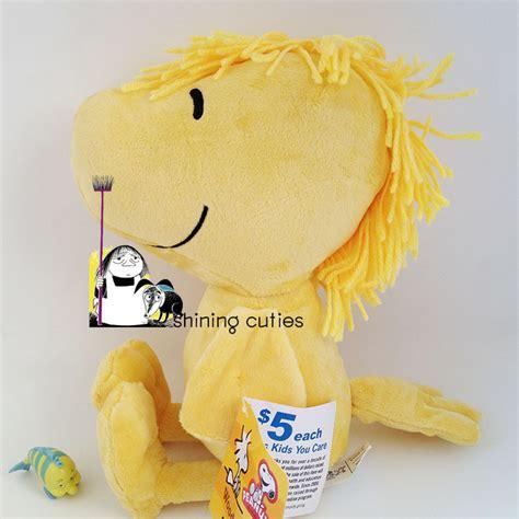 yellow soft christmas gift original usa woodstock peanuts yellow bird soft stuffed animals plush doll birthday