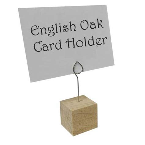 holders uk oak card holder the essentials company
