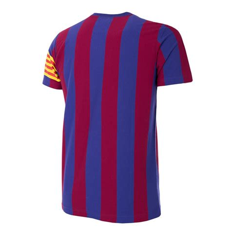 Tshirt Barcelona Xxi by Shop Fc Barcelona Captain Retro T Shirt 6719 Buy