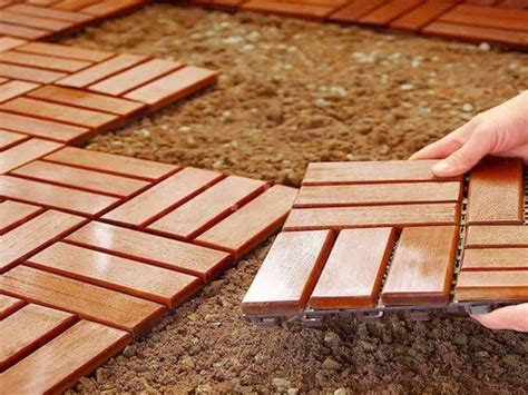 cheap diy flooring how to install deck tiles doovi
