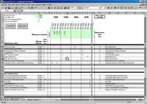 wanted excel maintenance log page 2 rennlist